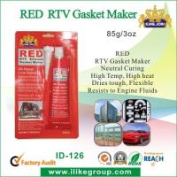 Buy cheap Silicone Air Proof RED RTV Gasket Maker , Waterproof And Heat Resistant product