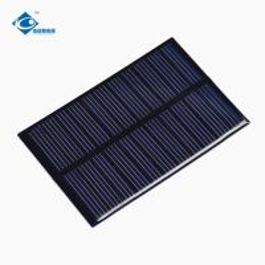 China 0.75W Epoxy Resin Solar Panel ZW-84556 PCB Board Lightweight Silicon Solar PV Module on sale