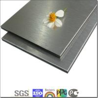 Buy cheap brushed fnished exterior interior wall decoration cladding product
