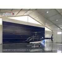 Buy cheap High Reinforce  Aluminum Frame Aircraft Hangar Tent for Helicopter product