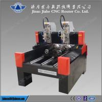 Quality High quality and speed engraving 3D Stone Cnc Router with double spindles 4025 for sale