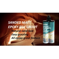 Buy cheap Waterproof Sand Colored Grout , Anti Mould Sanded Epoxy Grout product