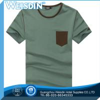 Buy cheap Embroidered hot sale 100% cotton fashion stock men fancy loose T shirt product