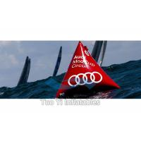 Buy cheap Bright Red Pyramid Sea Floating Inflatable Marker Buoys Advertising product
