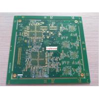 Buy cheap 12 layers min 2 mil line width high Tg High Density Interconnect HDI PCB from wholesalers