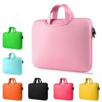 Buy cheap Shock Absorption Pink Womens Laptop BagCustomed Washable With Carry Handles product