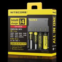 Buy cheap NITECORE i4 4 channels multi-functional Intellicharger Li-ion/Ni-MH/Ni-Cd Universal Battery Charger product