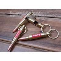 solid bullet shape bottle can opener keychain imprinted bullet can opener key rings 102311105. Black Bedroom Furniture Sets. Home Design Ideas