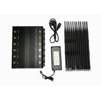 China 12 Bands High Power Adjustable Stationary Electronic Jamming Device 2 watts Jammer on sale