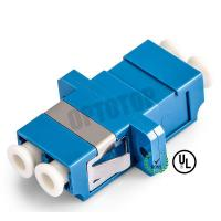 Buy cheap LC UPC Duplex Single Mode Fiber Adapter Connecting LC / UPC to LC / UPC product
