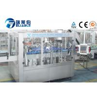 Buy cheap 3 In 1 Glass Bottle Production Line Machinery Soda Water / Carbonated Soft Drink from wholesalers