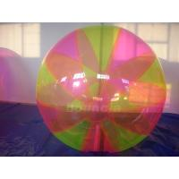 Quality Colorful Inflatable Water Ball , Inflatable Water Bubble For Water Games for sale