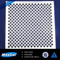 Buy cheap Aluminum Curtain Wall Cladding and Perforated Metal Tube product