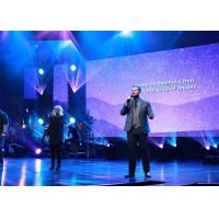 Buy cheap Concert Backdrop Indoor HD Led Video Wall Fast Lock System For Event / Church product