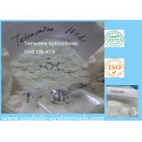 Buy cheap 136-47-0 Potent Local Anesthetics Tetracaine hydrochloride / Tetracaine HCL For Pain Killer product
