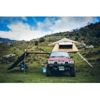 Buy cheap Outdoor Car Roof Shade Awning , Roof Rack Shade Awnings For 4x4 Vehicles from wholesalers