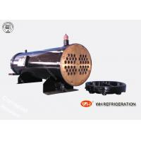Buy cheap Carbon Steel Boat Engine Shell And Tube Condenser , Sea Water Cooled Heat Exchanger product