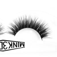 Buy cheap Siberian Wispy Natural Mink Lashes Cruelty Free 3d Individual Lashes For Party product
