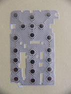 Buy cheap Disposições dos interruptores da abóbada do metal --- Colagem de borracha product