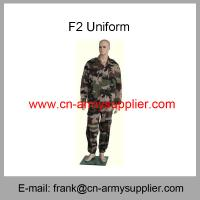 Wholesale Cheap China Army Camouflage Military French F1 F2 Uniform