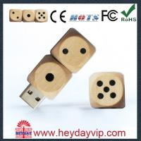 Buy cheap USB factory outlets 512MB, 1GB, 2GB, 4GB Wooden Usb Flash Drive  for Notebook product