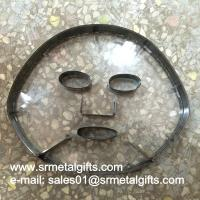 China Facial mask steel blade cutting die transparent acrylic sheet wholesale