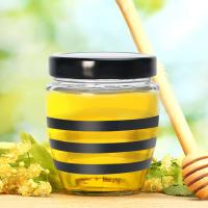 China Premium Glass Honey Bottle , Packaging Maltose Jam Glass Jar For Honey on sale
