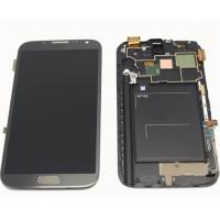 China samsung galaxy note 2 n7100 Assembled Digitizer frame Assembly LCD Touch Screen on sale