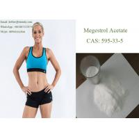 Buy cheap White Raw Anabolic Oral Steroids Megestrol Acetate Supplements 595-33-5 for Breast Cancer Treatment product