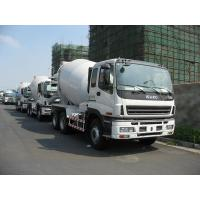 Buy cheap 8m3 , 9m3 , 10m3 ISUZU Mobile Concrete Mix Truck 6x4 With Hydraulic System product