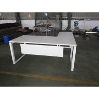 Buy cheap Modular Wooden and steel L Shape Executive Office Table Desk for Office Furniture product