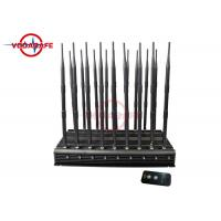 Buy cheap Customized Mobile Phone Signal Jammer With Adjustable Working Range 47 Watts product