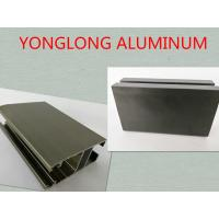 Buy cheap 6061 / 6063 T3 - T8 Anodized Aluminum Profiles , Aluminum Window Screen Frame product