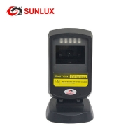 Buy cheap Cheap On Counter Automatic 2D Barcode Reader Black Case USB cable from wholesalers