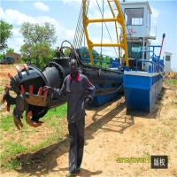 Buy cheap 12inch discharge port,14m Digging Depth,22m Length,800Kw River Dredger Machine Manufacturer product