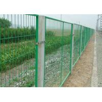 Buy cheap School / Highway Welded Wire Mesh Fence Panels With Vandal Resistant product