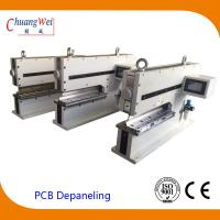 Buy cheap Metal Board PCB Depanel Machine PCB Separator with Customized Blade product