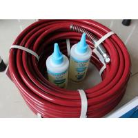 Quality Light Weight Spray Gun Hose Nylon 11 Blue Red 300Bar 15 Meters for sale