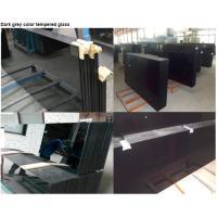 Buy cheap Anti UV Black Tempered Glass / Heat Resistance 5mm 6mm Toughened Glass product