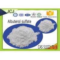 Buy cheap Pharmaceutical Raw Powder Albuterol sulfate CAS 51022-70-9 for Weight Loss product