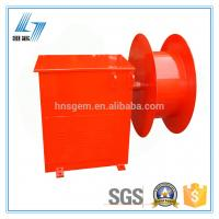 China Spring Type Cable Reel Drum 70m of Overhanging Type on sale
