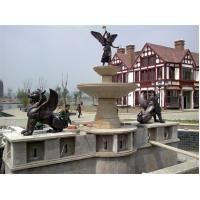 Buy cheap casting angel bronze fountain product