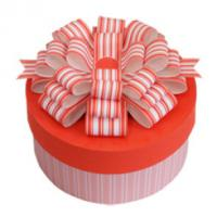 Buy cheap Paper Cylinder - Shaped Gift Box Packaging Pink For Birthday Cake product
