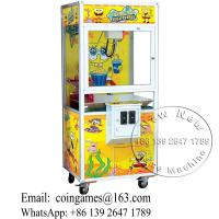 China China Electronic Shop Sponge Bob Arcade Toy Story Cranes Claw Machine For Sale on sale