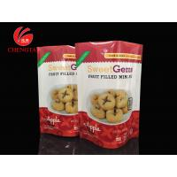 Buy cheap PET / PE Laminated Stand Up Pouches Packaging for Fruit Filled Mini - Pie product