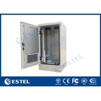 """Buy cheap 20U Outdoor Enclosure, Outdoor Cabinet, IP55, Fan Cooling, 19"""" Rail from wholesalers"""