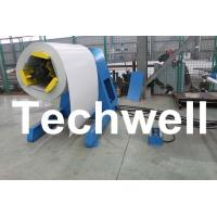 Buy cheap 5 Ton Hydraulic Auto Decoiler / Uncoiler Curving Machine With Uncoiling Speed 0 - 15m/min product