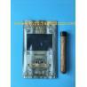 Manufacturers custom-made sales gold printing cigar packaging moisturizing zipper bag for sale