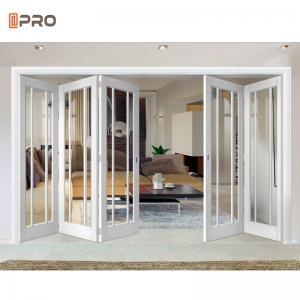 Buy cheap Soundproof Interior Temporary Aluminum Folding Doors product