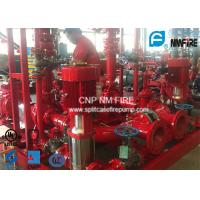 Buy cheap High Pressure Skid Mounted Fire Pump 450GPM/105PSI With Ductile Cast Iron Casing product